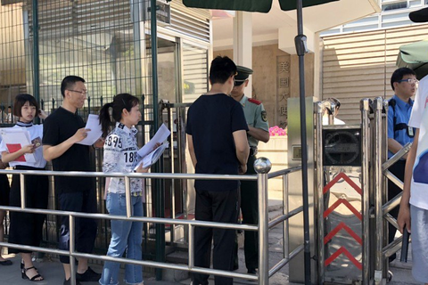 Chiến tranh thương mại Mỹ-Trung: Nghiên cứu sinh Trung Quốc chật vật xin visa Mỹ