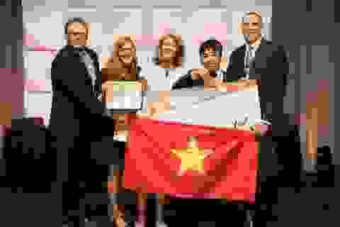 Nam sinh Nam Định giành Huy chương Đồng cuộc thi Vô địch Tin học Văn phòng Thế giới 2018