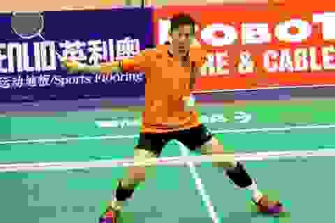 Tiến Minh dừng bước tại giải cầu lông Việt Nam mở rộng 2018