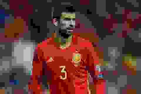 Gerard Pique bất ngờ từ giã đội tuyển Tây Ban Nha