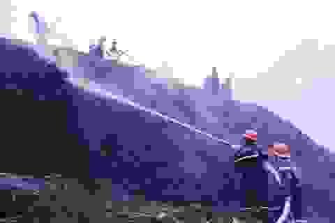 """Hơn 100 tỷ """"bốc hơi"""" trong vụ cháy kho chứa dăm gỗ"""