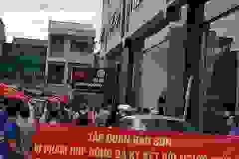 Nghệ An: Căng băng rôn phản đối chủ đầu tư, cư dân muốn điều gì?