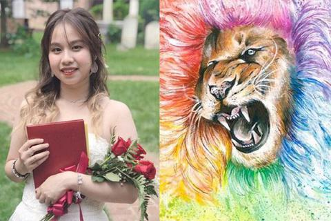 Nữ sinh Việt giành học bổng 11,3 tỷ đồng từ 5 trường nghệ thuật danh giá Mỹ