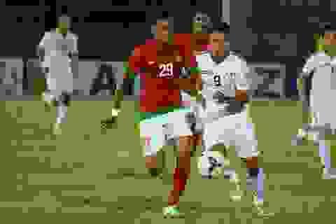 Olympic Indonesia bất ngờ thất bại trước Palestine