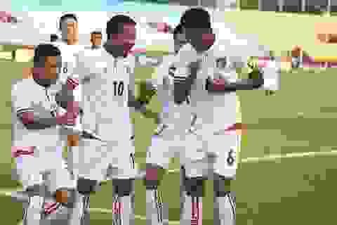 Olympic Myanmar gây sốc khi suýt đánh bại CHDCND Triều Tiên