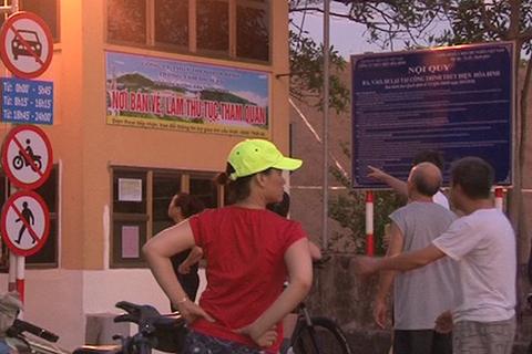 Cử tri thành phố Hòa Bình kiến nghị được tiếp tục lên đập thủy điện