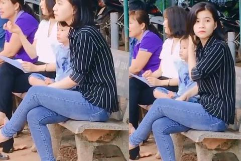 Cô giáo Bình Phước bất ngờ nổi tiếng bởi clip 12 giây... bị quay lén