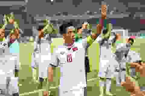 Văn Quyết nói gì sau khi Olympic Việt Nam đánh bại Nhật Bản?