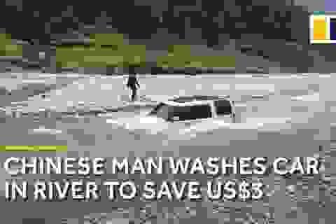 Mất cả chiếc Land Rover vì tự mang xe ra sông rửa để tiết kiệm 70.000 đồng