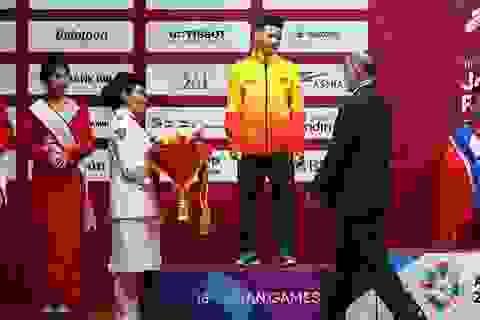 Kết quả thi đấu Asiad 2018 ngày 20/8: Thạch Kim Tuấn giành HCB cử tạ