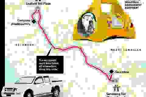 Malaysia truy tìm thiết bị phóng xạ biến mất bí ẩn