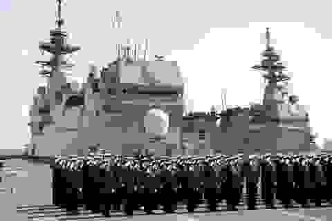Nhật Bản đưa 3 tàu khu trục đến Biển Đông