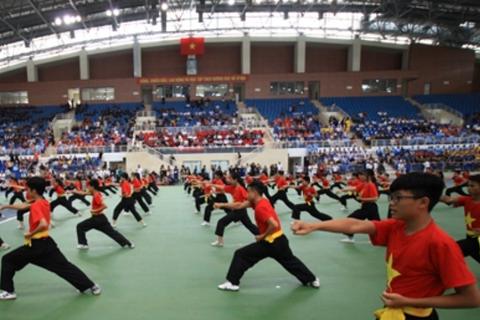 Khai mạc Giải vô địch thế giới Võ cổ truyền Việt Nam lần thứ hai