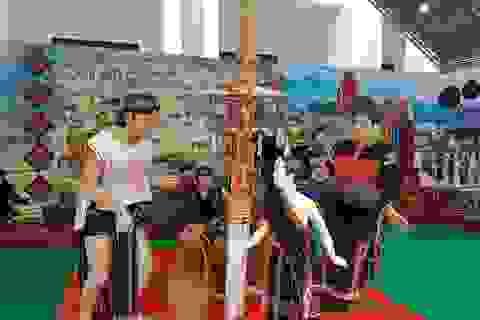 Không gian trưng bày ẩm thực, văn hóa đặc trưng của các dân tộc miền Trung