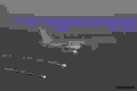 Bên trong máy bay trinh sát Mỹ tuần tra Biển Đông