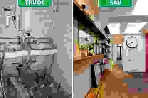 """Hành trình """"lột xác"""" thần kỳ của toilet công cộng trở thành căn hộ trong mơ"""