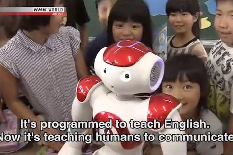 Nhật Bản chuẩn bị dùng robot để dạy tiếng Anh ở 500 trường học
