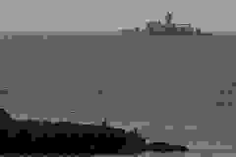 Hàng chục tàu do thám hoạt động của Mỹ ở vùng biển Hy Lạp