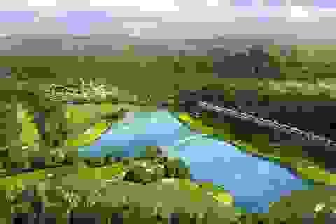Độc đáo quần thể nghỉ dưỡng trong lòng sân golf đầu tiên ở miền Bắc