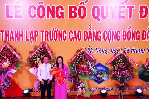 Đắk Nông có trường cao đẳng đầu tiên, bắt đầu tuyển sinh từ năm 2019