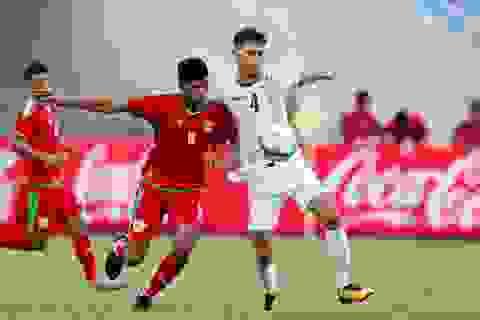 Bị Oman chia điểm, HLV Olympic Uzbekistan đổ lỗi do thời tiết