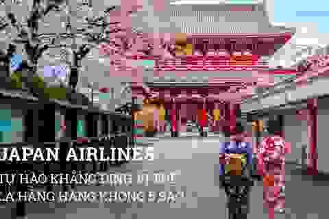 Japan Airlines – tự hào khẳng định vị thế là hãng hàng không 5 sao