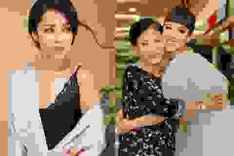 """Cô em chồng bị """"chửi rủa"""" nhiều nhất màn ảnh Việt lần đầu khoe mẹ"""