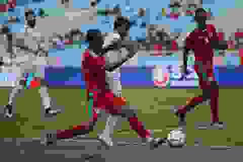 Hoà Oman, Olympic Palestine giành ngôi Á quân cúp tứ hùng