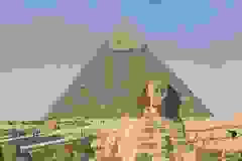 Đại Kim tự tháp Khufu là một bộ tập trung sóng vô tuyến