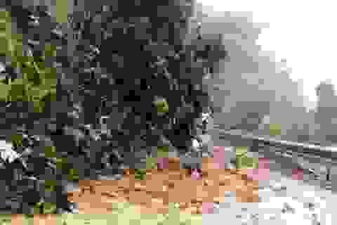 Huyện biên giới Mường Lát vẫn bị cô lập hoàn toàn sau mưa lũ