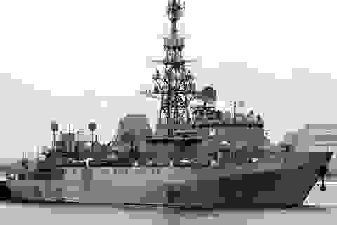 Tàu trinh sát Nga tới Địa Trung Hải giúp Syria ứng phó tên lửa Mỹ