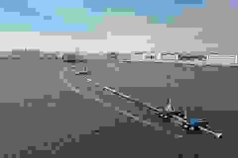 Bẫy khổng lồ thu gom rác thải nhựa trên Thái Bình Dương