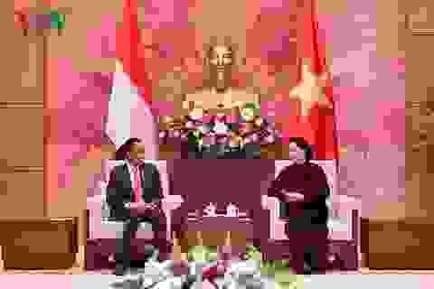 Chủ tịch Quốc hội tiếp Tổng thống Indonesia Joko Widodo