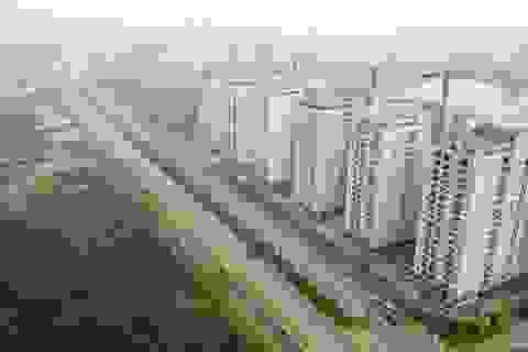 Ngắm từ trên cao tuyến đường 5.000 tỷ nối bốn quận, huyện tại Hà Nội
