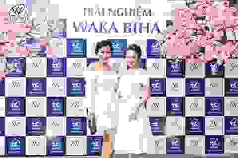 Bảo Thanh và Thanh Hương gây chú ý tại sự kiện trải nghiệm Waka Biha