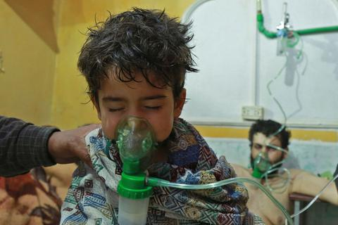 Nga nói phiến quân đã chuyển chất hóa học tới thành trì ở Syria