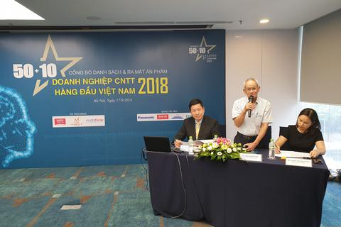 Công bố 10 doanh nghiệp CNTT hàng đầu trong công nghệ 4.0 tại Việt Nam
