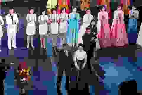 Lãnh đạo Hàn - Triều cùng xem hòa nhạc, dự tiệc tối