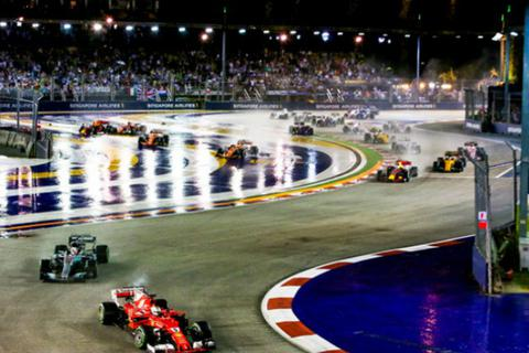 Grand Prix Season Singapore - Đường đua giữa lòng thành phố