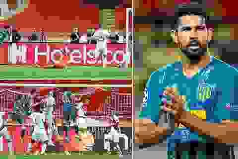 Diego Costa tỏa sáng, Atletico ngược dòng đánh bại Monaco