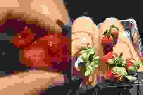 Australia phát hiện hơn 100 trường hợp hoa quả bị gài kim nhọn