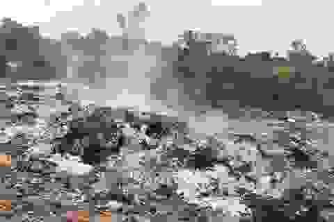 """Báo động tình trạng doanh nghiệp bất chính """"phi tang"""" rác thải nguy hại tại Bắc Giang!"""