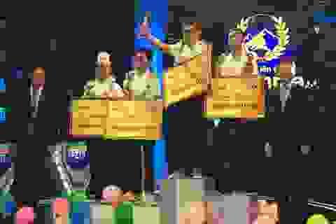 Gấp đôi điểm thí sinh thứ hai, Hoàng Cường vô địch Đường lên đỉnh Olympia 2018