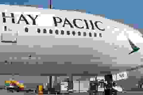 Hy hữu hãng hàng không sơn sai tên mình trên máy bay