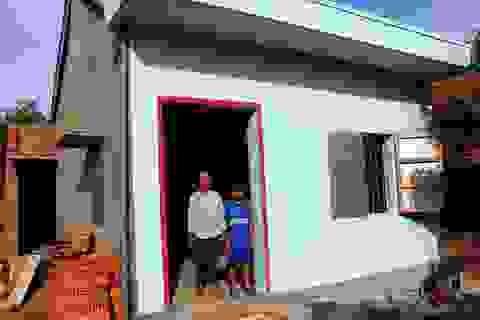 Hai mẹ con chị Tốt đã có nhà mới