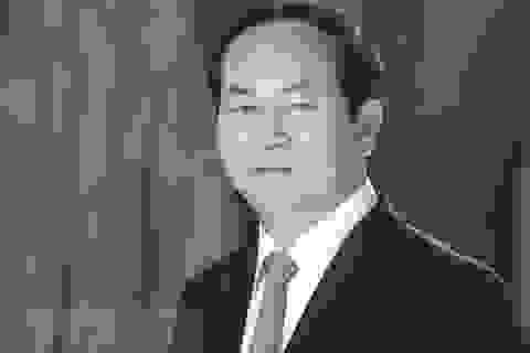 Lãnh đạo Lào, Campuchia, Cuba điện chia buồn Chủ tịch nước Trần Đại Quang từ trần