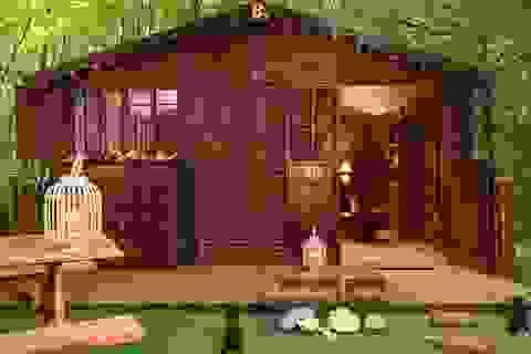 Kỳ lạ ngôi nhà và nội thất được làm hoàn toàn từ sôcôla