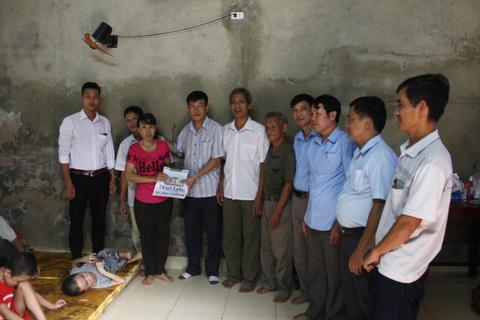 Hơn 172 triệu đồng đến với gia đình chị Lê Thị Hiền
