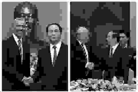 Chủ tịch nước Trần Đại Quang và cuộc gặp lịch sử với hai Tổng thống Mỹ