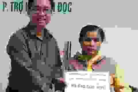 Hơn 83 triệu đồng đến với gia đình bé Hữu Thắng